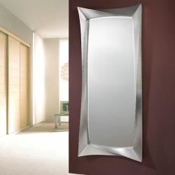 Deco mirror rectangular Large Silver Leaf aged