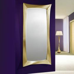 miroir Carrée Feuille d´or Grand