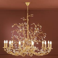Pitti Pendant Lamp Florentina 12L Ivory/Oro