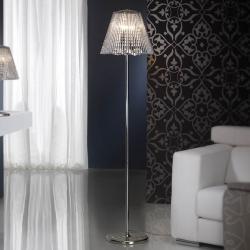 Medea lámpara de Pie 4L Cromo