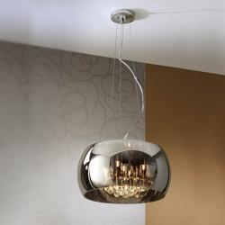 Argos Pendant Lamp Medium Ø40 5G9 LED 6W Chrome