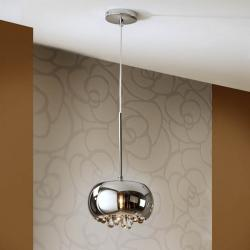 Argos Pendant Lamp Small G9 LED 6W Chrome