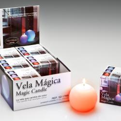 Vela LED Set 6 cire avec Llama Velas LED