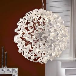 Nova Pendant Lamp 15L white/Glass