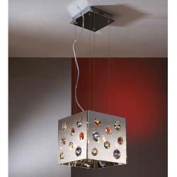 Croma Pendant Lamp 8L Cuadrado