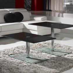 Eclipse table rectangular Hidráulica Black