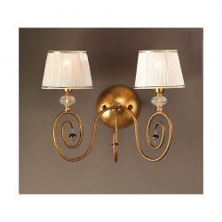 Medas Wandleuchte 2L mit lampenschirme