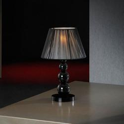 Mercury Table Lamp Small 1L Black