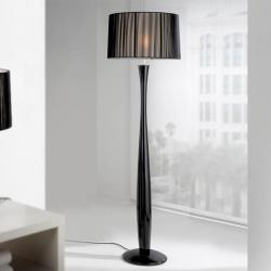 Lin lámpara de Pie 1L negro