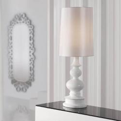 Babylon Table Lamp 1L white