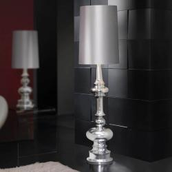 Babylon lámpara of Floor Lamp 1L Silver