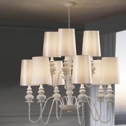 Babylon Pendant Lamp 9L white