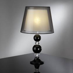Osiris Lampe de table Noir/Transparent