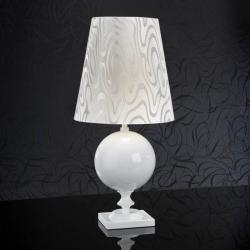 Terra Table Lamp white + white lampshade