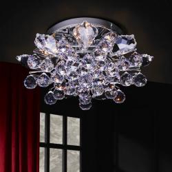 Ofelia ceiling lamp 6L bright chrome