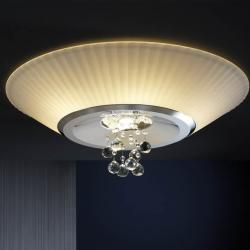 Andros ceiling lamp 6 E14 LED 4W + 1 GU10 LED 7Wbright chrome