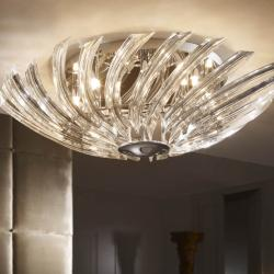 Eloise ceiling lamp G9 8x42W bright chrome