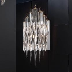 Urano Aplique G9 3x42w Cromo brillo Cristal Transparente