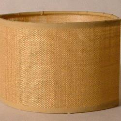 Accessoire abat-jour E27 ovale Brun