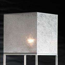 lampshade Square Hilo Plateado 30cm