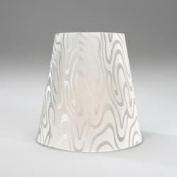 Terra (Accessory) lampshade white/Silver 29cm