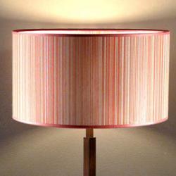 lampshade Tonos Granate 30cm
