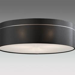 Ibis (Accessoire) ø55 abat-jour tissu Noir