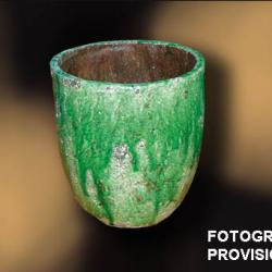 planteur céramique Moyen Vert