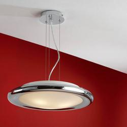 Saturno Pendant Lamp 3L bright chrome