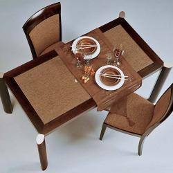 Loto mesa de comedor Wengue
