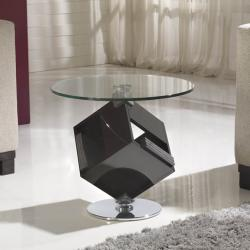 Cubic mesa de rincón Caja CDs 72 Metal/DM