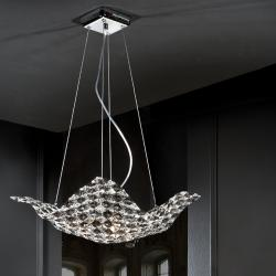 Saten Pendant Lamp 4L Small
