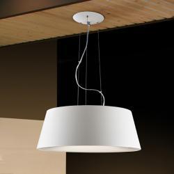Zone Pendant Lamp ø48cm 4L E27 White matte white