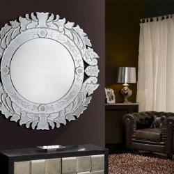 Audry espelho Rodada 82cm
