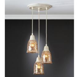 Frances Kit Pendant Lamp 3L patinated Frances