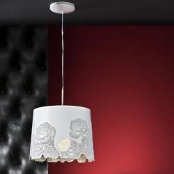 Roses Pendant Lamp ø32cm E27 Lacquered white Brillo