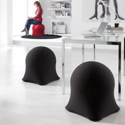 Medusa Negra sillón Puf