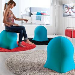 Medusa sillón Puf Azul