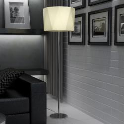 Timor lámpara of Floor Lamp with white lampshade