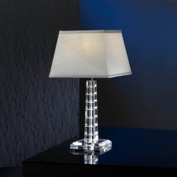 Corinto Table Lamp Glass Small 1L