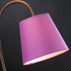 abat-jour pourpre pour lámpara de Lampadaire Alma