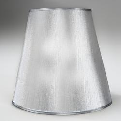 abat-jour pour lámpara de Lampadaire Argent ø45 X 42