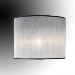 lampshade ø45x30 Silver Ignifuga