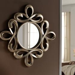 Abril espejo Plata