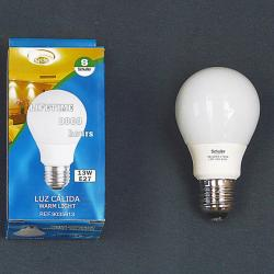 Bombilla FluorescentMini globo 9W E27