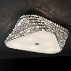 Elis Plafón Ø54 6xG9 42W Cristal Transparente