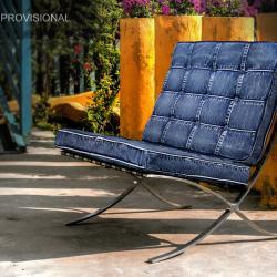Jeans Barcelona sillón