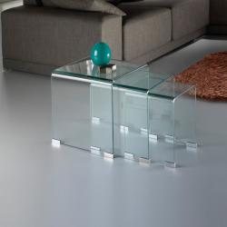 Glass table Nido Transparent