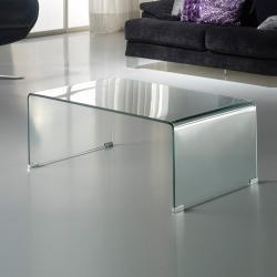 Glass mesa de centro 110x40x60 Transparente