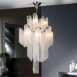 Astral Lamp Glass G9 12x42w nickel